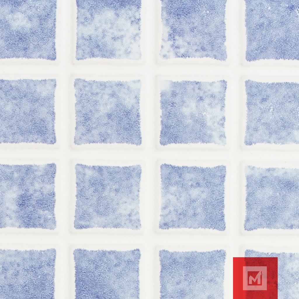 azulejo mosaico azul